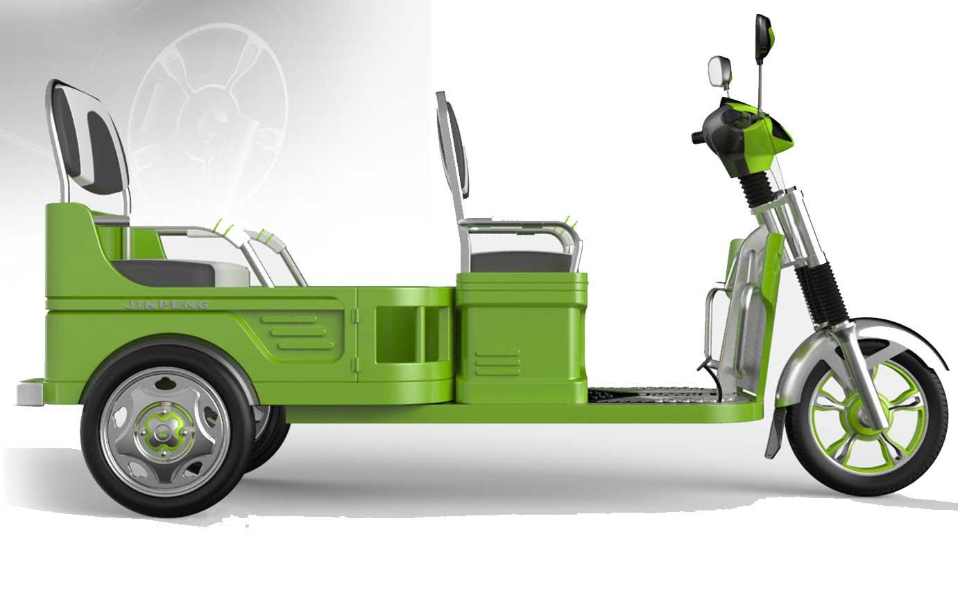 电动三轮车设计
